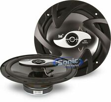 "DUAL 100W 6.5"" DS Series 2-way Coaxial Car Stereo Speakers 