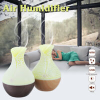 7 LED Colour Aroma Air Diffuser Electric Ultrasonic Mist Humidifier Purifier  X