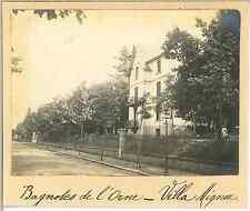 France, Bagnoles de l'Orne (Orne), Villa Mignon  Vintage silver print.  T