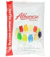Albanese 12 Flavor Assorted Gummi Bears, 5-Pound Bag (PACK OF 2)  FREE SHIPPING!
