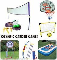 New Garden Sports Games Archery Tennis Football Outdoor Kids Giant Badminton