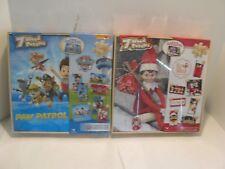 Paw Patrol & Elf On The Shelf  7 Wood Puzzles Box Sets