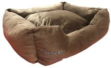12v Heated Pet Bed, Cat, Dog, Puppy, Kitten Electric Heated Pad, Chocolate Brown