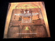 MARIE CLAIRE ALAIN/DE GRIGNY/LIVRE D'ORGUE/ERATO/2XLP/FRENCH PRESS/GL