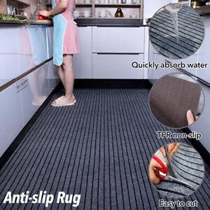 Non Slip Duty Rubber Barrier Mat Water Absorption Carpet Floor Mat for Kitchen