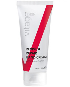 Vitage Skincare Revive And Repair Hand Cream 100ml New Boxed