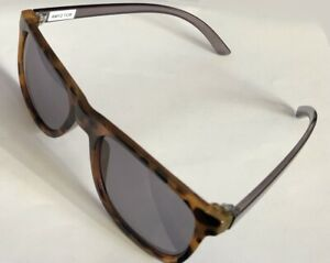 Special Frame Tortoise Front & Gray transparent Temple 55-19-145 B:42 Gray Lens