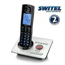 TELEPHONE SANS FIL NOIR DECT GAP + REPONDEUR SWITEL DCT 5571 LABEL ECOLOGIQUE