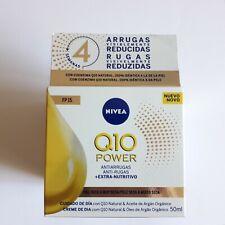 Nivea Q10 Power Anti-Wrinkle+Extra Nourishing Day Cream 50 ml ** FREE SHIPPING**