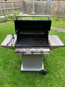 Beefeater BBQ (3 burners), used but in good condition,