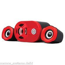 Quantum USB Computer (Subwoofer) Speaker Red Shining QHM6200 +Bill