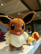 """NEW Authentic Tomy POKEMON EEVEE Pokemon Go Plus X & Y T18897 Plush Toy 8"""""""