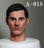 """1:6 Scale A-18 Male Head Sculpt Carved Model Fit 12"""" HT Action Figure Body Toys"""
