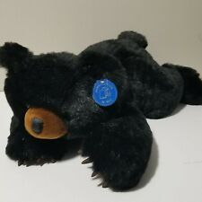 """Purr-Fection by MJC Black Bear Plush Claws 18"""" Smokey Mountains with Tags"""