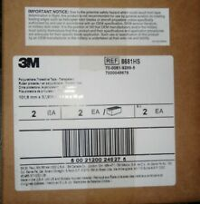 """5 FEET!  3M 8681HS POLYURETHANE HELICOPTER PROTECTIVE TAPE CLEAR 4""""X5'."""
