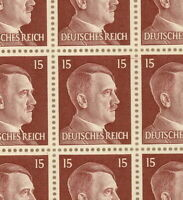 Stamp Germany Mi 789 Sc 514 Sheet 1941 WWII Fascism War Era Hitler MNG