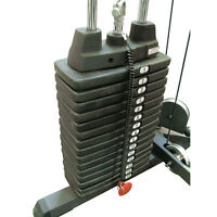 150 lb. Selectorized Weight Stack Upgrade - Body-Solid SP150