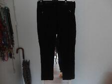 Pantalon souple noir MARITHE ET FRANCOIS GIRBAUD