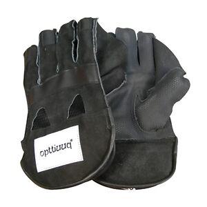 Opttiuuq QVU Wicket Keeping Gloves - all Junior Sizes available (random colour)
