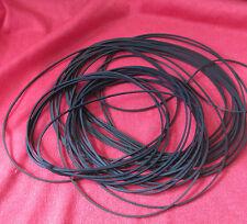 Set of 12 Rubber Drive Belts / Bands for VCRs, Cassettes etc. 82-144mm Diameter