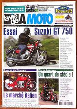 LVM - La Vie de la Moto n° 315 de 2002; Essai Suzuki GT 750/ Prépa Coupes Moto L