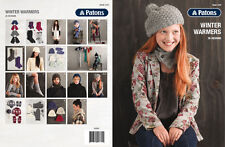 PATONS - WINTER WARMERS PATTERN BOOK #1310 - 26 DESIGNS