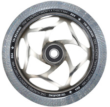 Envy Tri- Bearing Pro Scooter Wheel - 120mm x 30mm - Chrome/Clear