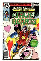Marvel Premiere #44 NM Mark Jewelers  The Jack Of Hearts  Marvel Comics   CBX7