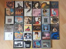 CD-Sammlung/Konvolut   34 Musik-CDs   Bunter Mix aus Rock & Pop   Guter Zustand