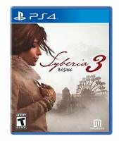 PS4 Syberia 3 Video Game Playstation NTSC T-408