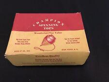 Vintage Champion Spinning Tops