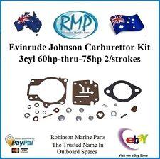 Johnson Evinrude Carb Repair Kit Genuine - P/n 396701
