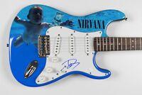 Nirvana Dave Grohl Fender Stratocaster Squier Guitar Signed Autograph JSA COA