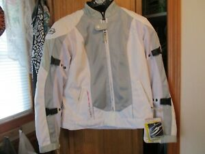 NWT Women's Castle TURBINE  SILVER  SNOWMOBILE Jacket Coat Sz Medium  10