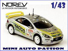 Peugeot 307 WRC - Rallye du Limousin 2005 - ref 473797 - Echelle 1/43 - NOREV