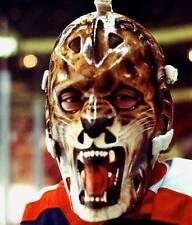 GILLES GRATTON VINTAGE GOALIE NHL HOCKEY RANGERS 8X10 PHOTO