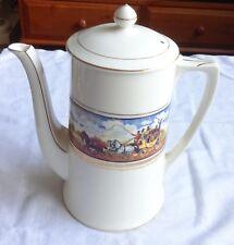 "Vintage Crown Ducal Ware, ""Cries of London"" Tea/Coffee Pot"