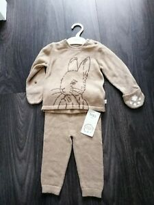 Baby's M&S Peter Rabbit Leggings & Jumper Outfit Age 9/12 Months NWT Unisex