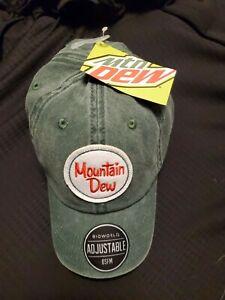 Mountain Dew Trucker Hat NWT NEW Adjustable