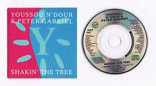 PETER GABRIEL & YOUSSOU N'DOUR 3 Inch CD Shakin' The Tree + 2 Import CD3 Single