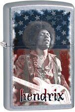 Zippo 2016 Catalog NEW Jimi Hendrix, American Flag Street Chrome Lighter 29175