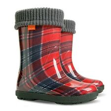 Kids Boys Girls Wellington Boots Wellies Rainy Boots size 4-2.5 UK / 20-35 EU