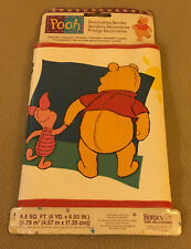 """Pooh Decorative Border - 15' x 6.83"""" by Borden Home Wallcoverings {NEW}"""