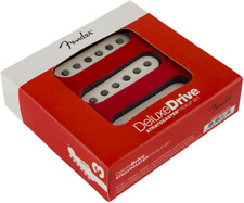 Fender Deluxe Drive Stratocaster High Output Pickup Set, White, MPN 0992222000