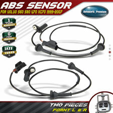 Set of 2 ABS Speed Sensors for Volvo S60 S80 V70 XC70 99-09 Front Left and Right