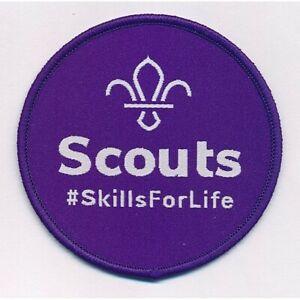 Fleur de Lis Scouts Skills For Life Fun Badge