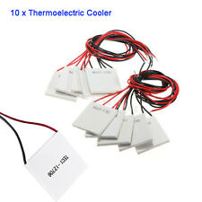 10X TEC1-12706 Thermoelectric Cooler Peltier Plate Module CPU 12V