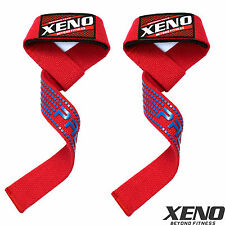 XENO Padded Weight Lifting Training Gym Straps Hand Bar Wrist Support Gloves