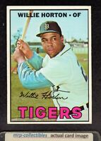 1967 Topps #465 Willie Horton Detroit Tigers Vintage Baseball Card EX/MT