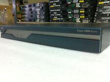 Cisco 1841 Router w/ Adventerprise 15.1 IOS, 64F/384D Flash Memory 2x WIC card
